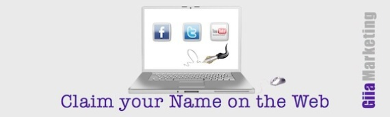 Claim your name online